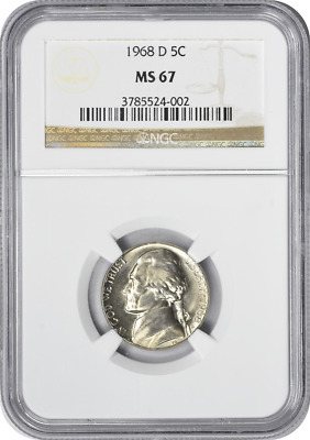 1968-S/S OR S/D Jefferson Nickel - Repunched Mintmark Error