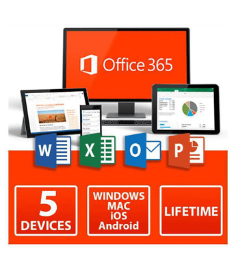 INSTANT MICROSOFT OFFICE 365 🔥 LIFETIME License 🔑 5 DEVICES 5TB MAC/WIN Key 🔑