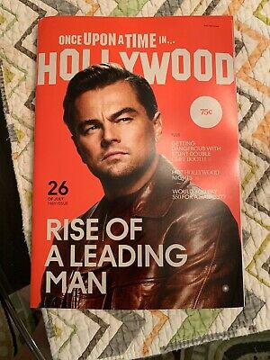 Once Upon A Time In Hollywood Quentin Tarantino Film Premiere Magazine BRAND NEW