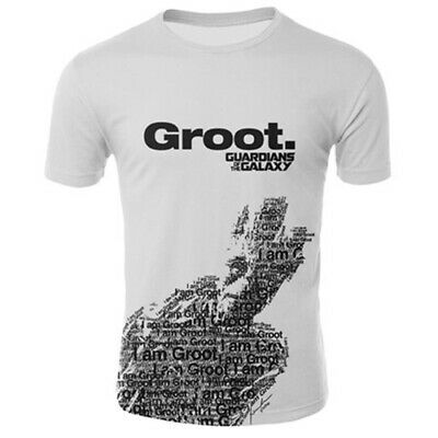 Hot Sale Women Men Casual TShirt 3D Print Cool Groot Short Sleeve Tee Top Unisex