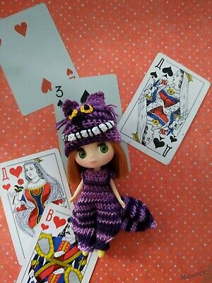 Cheshire cat from Alice in Wonderland outfit for Little Pullip