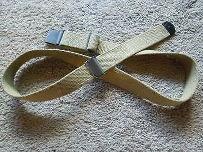 .30 M1 Garand .3006 WW2 Type 1942 Dated Khaki Canvas Rifle Sling NEW Cond.