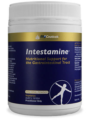 BioCeuticals Intestamine 300g net powder. (2 X 300g net powder)