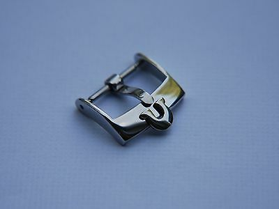 18Mm Omega Stainless Steel Watch Strap Buckle, Will Fit 20Mm Strap