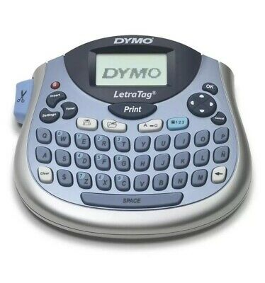 Tabletop Label Maker Dymo LetraTag Compact Portable QWERTY Labeller FREE SHIPPIN