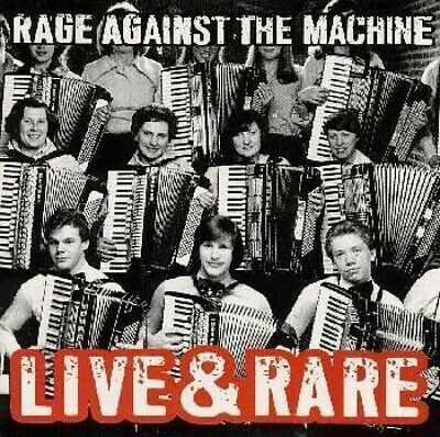 CD Rage Against the Machine Live & Rare USED