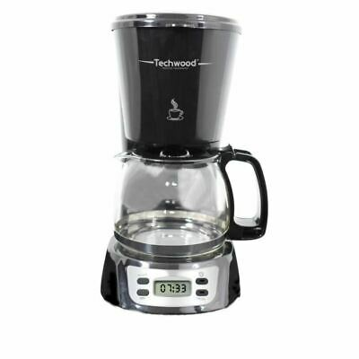 TECHWOOD TCA-846 Cafetiere filtre programmable
