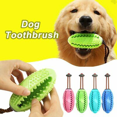 Dog Toothbrush Chew Stick Cleaning Toy Silicone Pet Brushing Oral Dental Care JM