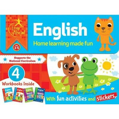 Leap Ahead: English Age 3-5  (Boxed set of 4)   -  UNUSED  -  9781784406950