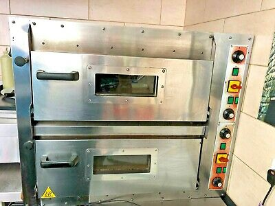 Commercial Twin Deck Electric Pizza Oven