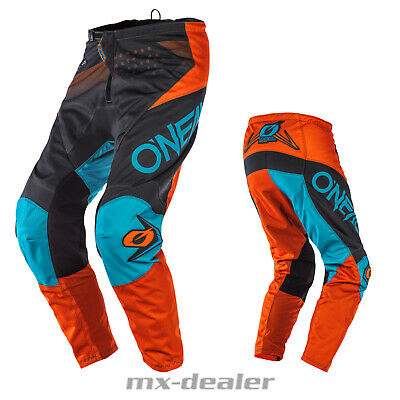 2020 O'Neal Element Factor Orange Hose  mx motocross Enduro Quad Crosshose BMX