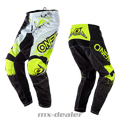 2020 O'Neal Element Impact Neongelb Hose  mx motocross Enduro Quad Crosshose