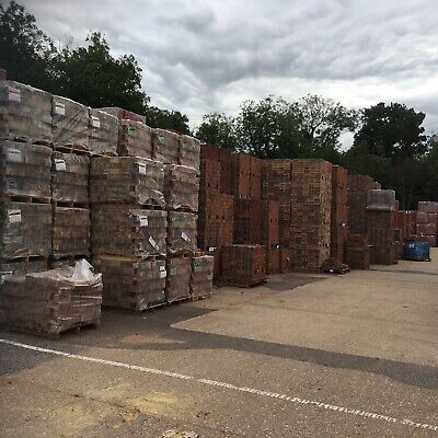 Cheap Red Bricks £400 Per Thousand Nationwide Delivery