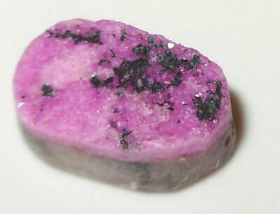 7.01ct Beautiful Pink Cobalto Calcite Drusy Cabochon Congo (Zaire) WoW *$1NR*