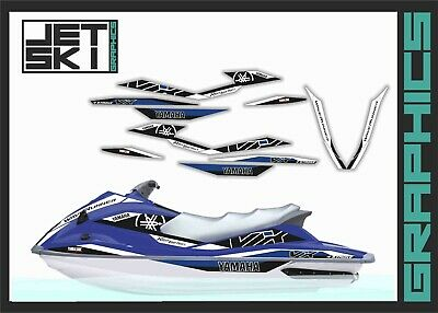 YAMAHA GRAPHIC KIT Decals Oem Vx110 Vx 1100 Vx Deluxe