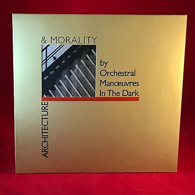 ORCHESTRAL MANOEUVRES IN THE DARK Architecture & Morality 1981 UK Vinyl LP OMD #