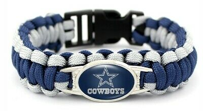 Dallas Cowboys  Football Paracord  Bracelet NEW MIP