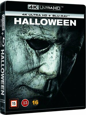 Halloween 4K Ultra Hd Blu-Ray New/Sealed Jamie Lee Curtis (A-B-C) John Carpenter