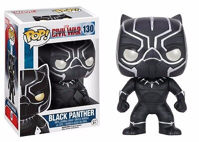 Funko Pop! Captain America 3: Civil War Black Panther Vinyl Action Figure