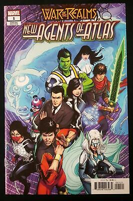 WAR OF THE REALMS NEW AGENTS OF ATLAS #1 1/50 VARIANT ZIRCHER 1st APPEARANCES