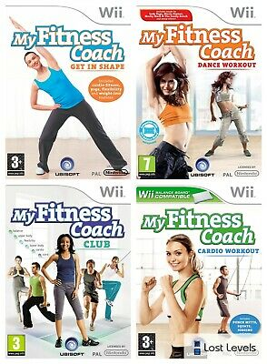 Wii - My Fitness Coach Series - Same Day Dispatch - Boxed - *Multi Listing*