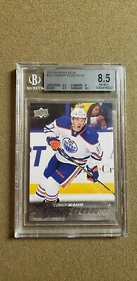 2015 16 Upper Deck Young Guns Connor Mcdavid Rc Rookie #201 BGS 8.5