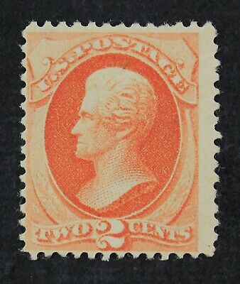 CKStamps: US Stamps Collection Scott#183 2c Jackson Mint NH OG Gum Crease