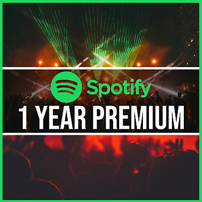 Spotify Premium 1 Year! | Upgrade Your Existing Account | 12 Months Spotify!