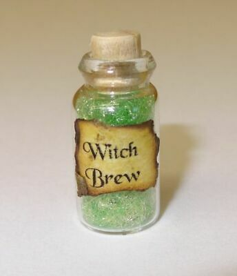Dollhouse P/'s /& Q/'s Halloween Witches Brew Magic Potion Doll House Miniatures