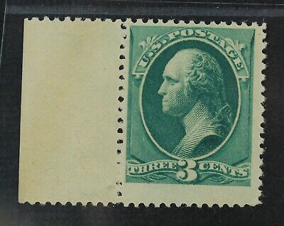 CKStamps: US Stamps Collection Scott#207 3c Washington Mint NH OG Tiny Gum Dist