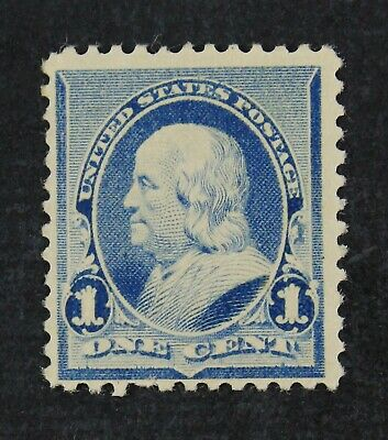 CKStamps: US Stamps Collection Scott#219 219D 1c Franklin Mint NH OG