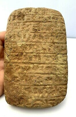 Ancient Near Estren Pottery Tablet.