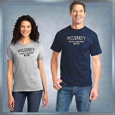 Reunion T-Shirt Add School or Name and Year T-Shirt XS - 6XL