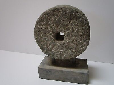 Antique Stone Carving Wheel 18Th To 19Th Century Modern Art Sculpture Vintage