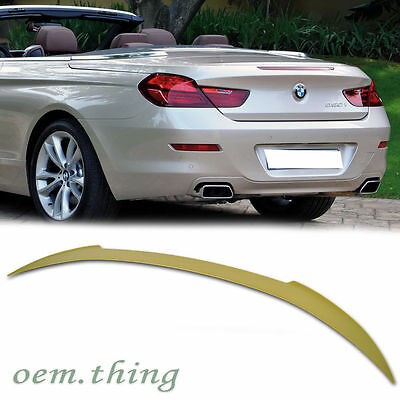 For BMW V Type 6-Series F12 Convertible Boot Trunk Spoiler Wing 2017 650i 640i