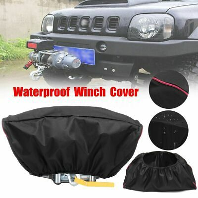 Waterproof Soft 420D Winch Dust Cover For Driver Recovery 5,000-13,000   ^