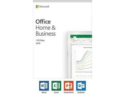 Microsoft Office 2019 Home and Business Retail - SKU:T5D-03203 Phone Activation