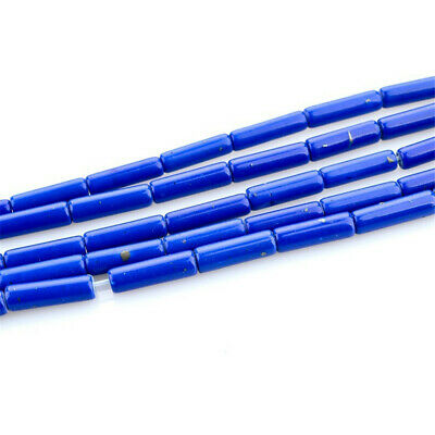 1PCS 4x12mm Lapis Lazuli Loose Beads Making Jewelry 15 inches Craft Handmade