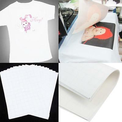 5PCSA4 Iron On Print Heat Transfer Paper for DIY Craft T-shirt  New BB