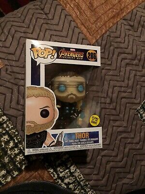 Funko Pop Marvel Avengers Infinity War Thor #286 SF Limited Edition GlTD