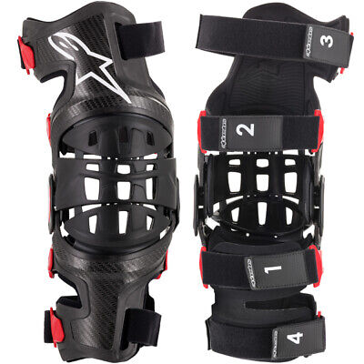 Alpinestars Bionic 10 Carbon Motocross Knee Braces - Pair