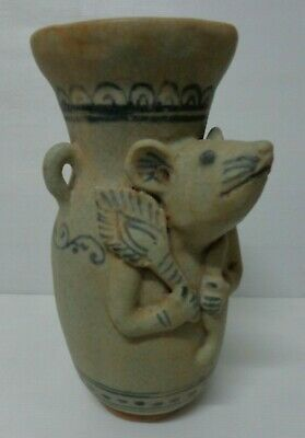 ANTIQUE  17thc AYUTTHAYA  KINGDOM YEAR OF RAT   WATER   VASE