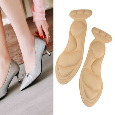Details zu PAIR High Heel Pad Grips Shoe Cushion Insole Inserts Back Blisters Self Adhesive