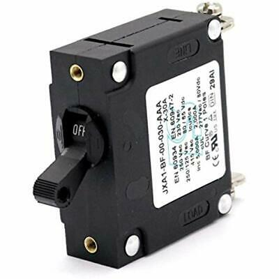 Marine Toggle Single Pole Hydraulic Magnetic Circuit Breakers AC Or DC 80V For