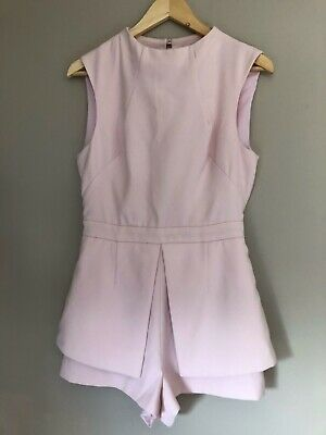 Finders Keepers Playsuit Baby Pink Size M
