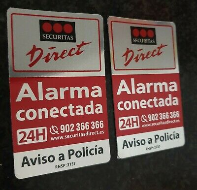 Dos Carteles Disuasorios Securitas Direct