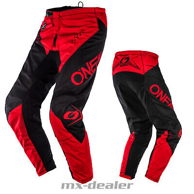 2020 O'Neal Element Racewear Rot Hose  mx motocross Enduro Quad Crosshose BMX
