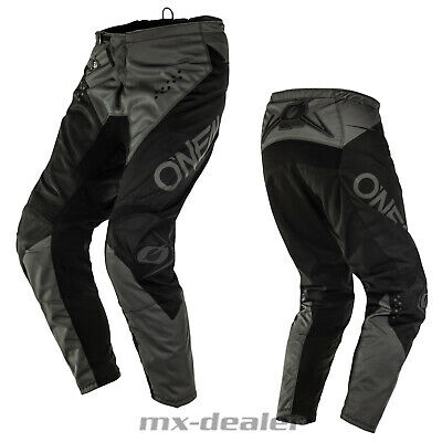 2020 O'Neal Element Racewear Schwarz Hose  mx motocross Enduro Quad Crosshose