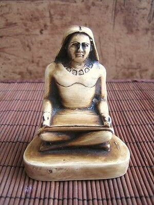 UNIQUE Amazing Egyptian Handmade Statue Ancient ROYAL SCRIBE Museum Collection