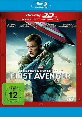 The Return of the First Avenger - Blu-ray 3D + 2D, 2x Blu-ray Disc (50 GB)